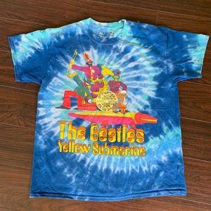 The Beatles yellow submarine the die shirt men's S